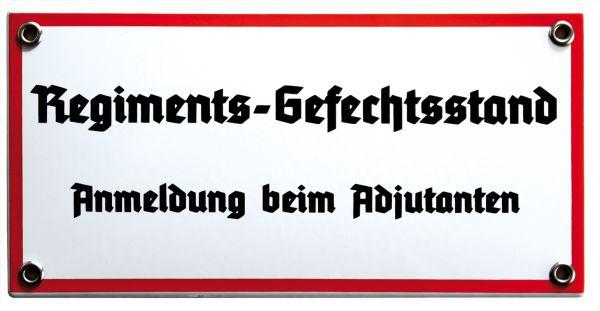 """""""Regiments-Gefechtstand"""""""