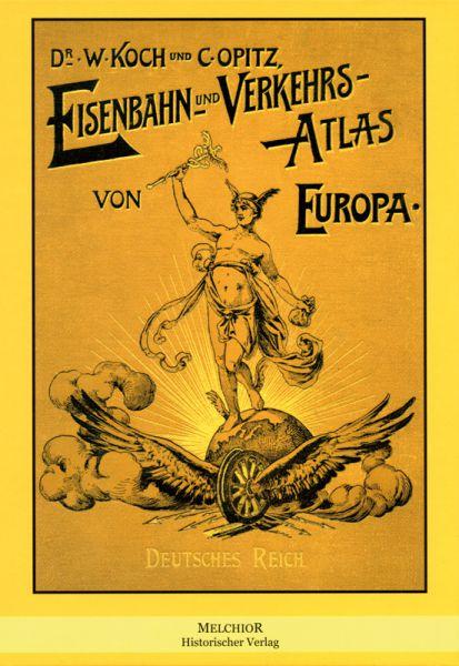 Eisenbahn- und Verkehrs-Atlas von Europa