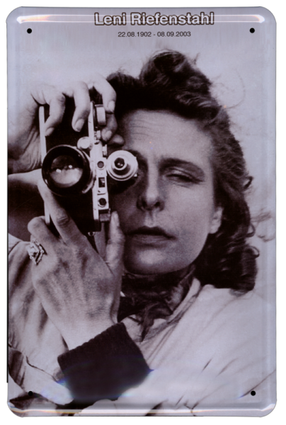 """Leni Riefenstahl"""