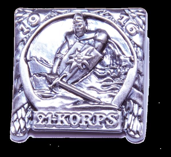"Kappenabzeichen ""21. Korps 1916"""