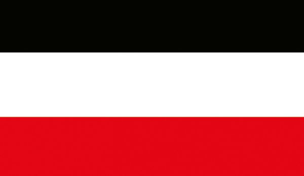 Reichsfahne schwarz-weiß-rot