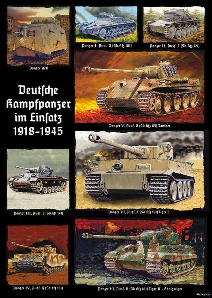 """""""Deutsche Kampfpanzer im Einsatz"""" 1918-1945"""