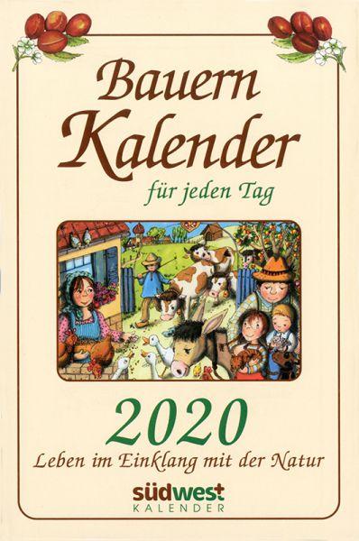 Bauernkalender für jeden Tag 2020