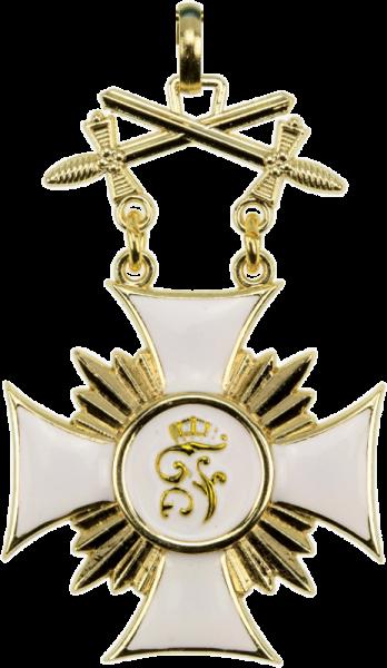 Württemberg Friedrichs-Orden Ritterkreuz 1.Klasse mit Schwertern
