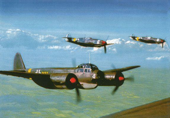 Deutsche Luftwaffe, 12 Karten