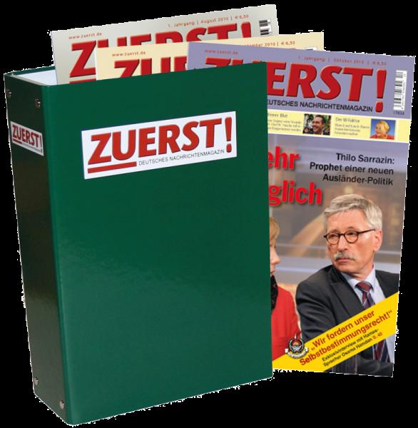 ZUERST! Deutsches Nachrichtenmagazin Dezember 2014 - Probeausgabe