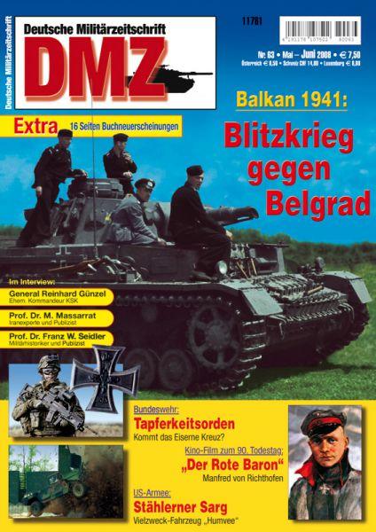 Blitzkrieg gegen Belgrad
