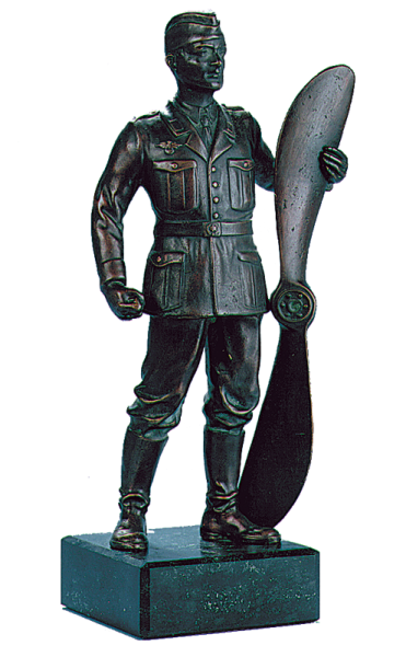 Luftwaffen-Soldat, Bronze-Replik