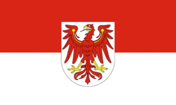 Tischfähnchen Brandenburg