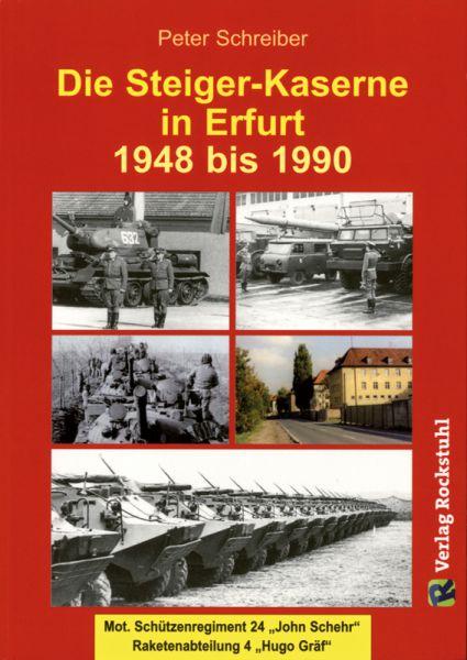 Die Steiger-Kaserne in Erfurt