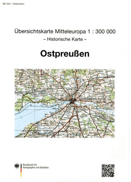 Provinzkarte Ostpreußen