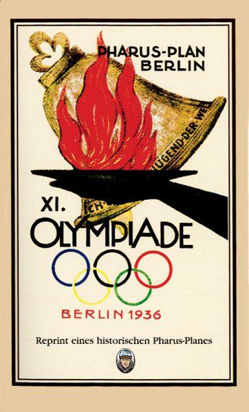 Plan zu den XI. Olympischen Spielen in Berlin 1936