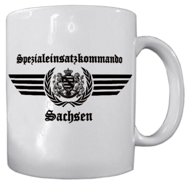 """Becher """"Spezialeinsatzkommando Sachsen"""""""