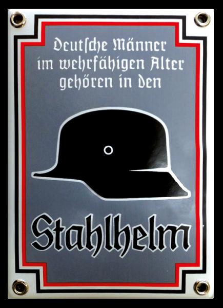"""""""Deutsche Männer im wehrfähigen Alter gehören"""