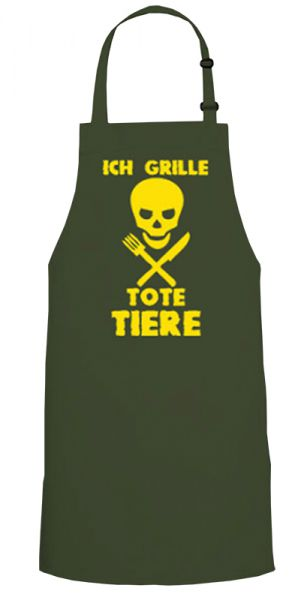 Ich grille tote Tiere
