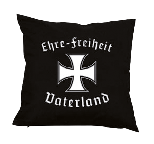 """Kissen """"Ehre-Freiheit-Vaterland""""."""
