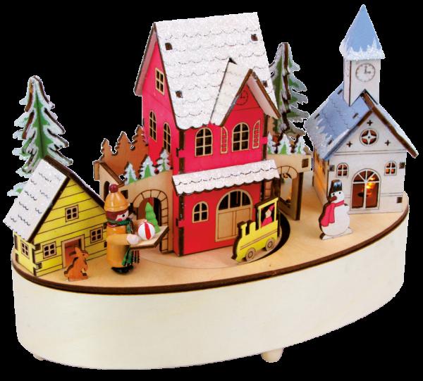 """Spieluhr """"Weihnachtszeit"""""""
