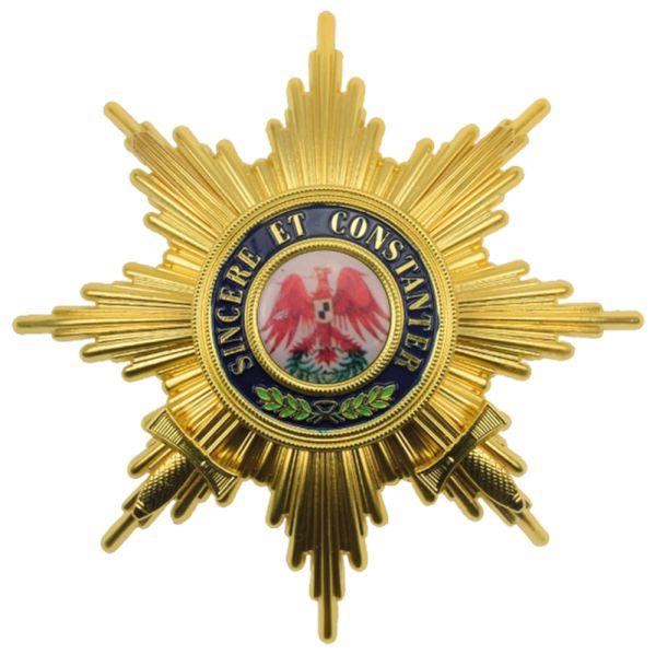 Roter Adlerorden Bruststern zum Großkreuz mit Schwertern