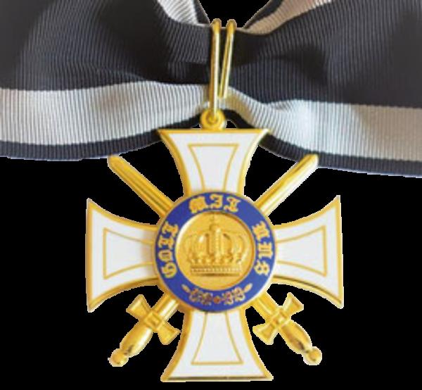 """""""Königlicher Kronen-Orden – 2. Klasse mit Schwertern"""""""